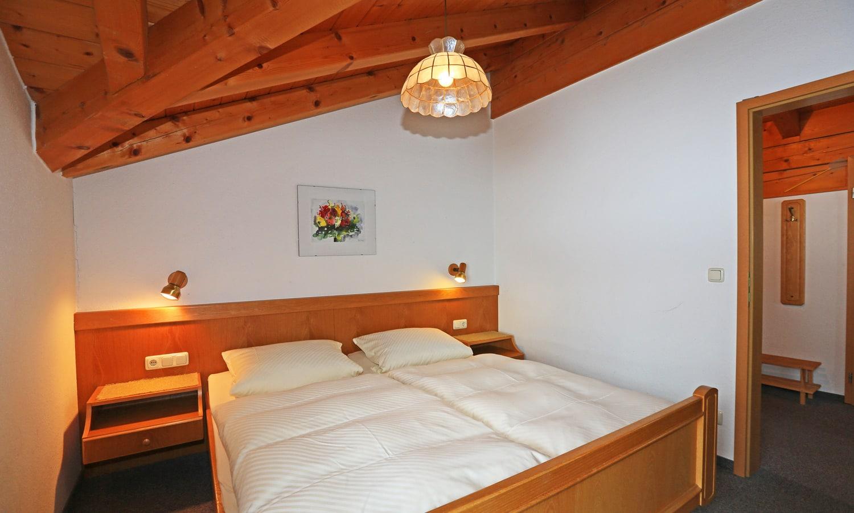 Wohnung Bergblick - Schlafbereich