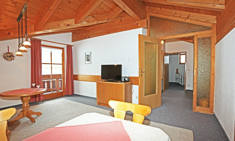 Wohnung Bergblick - Wohnbereich