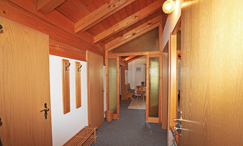 Wohnung Bergblick - Blick in den Wohnbereich