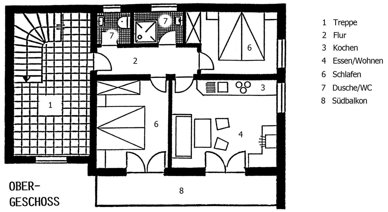 Wohnung Imberger Horn - Grundriss